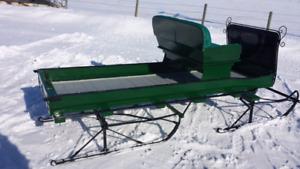 Maple syrup restored sled.