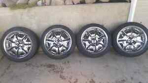 "20"" Kong Rims Set With Brand New Tires"