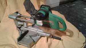 "Hitachi 10"" made in Japan compound saw"