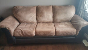 Two Microfiber couches