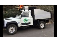 Land Rover tipper