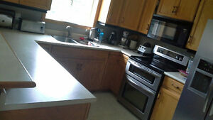 Laminate U shaped countertop plus small piece