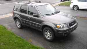 Ford escape 2005 xlt limited