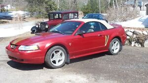2000 Ford Mustang décapotable
