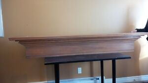 Solid Maple MANTLE - for Fireplace or Wall Display Kitchener / Waterloo Kitchener Area image 2