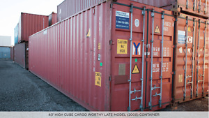 Containers For Sale - 20' and 40' Sizes