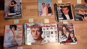 ROLLING STONES MAGAZINES-150 IN TOTAL-!985-2004