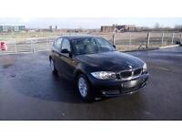 "BMW 1 SERIES 1.6 116i ES 5 DOOR 2007 ""57"" REG 48,000 MILES FACTORY BLACK"