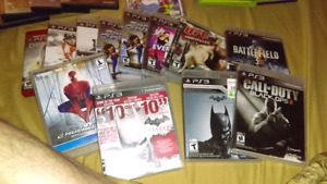 All kinds of games,PS3, Xbox360,PS2,,ect