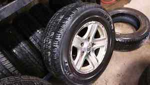 All season truck tires off a dodge durago 265/65/r17 on rims