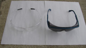 Safety Glasses Clear and Tinted Set