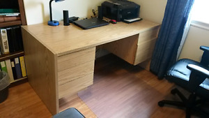 Working desk - 5 drawers