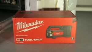 Milwaukee Transfer Pump , in box. Battery not corded.