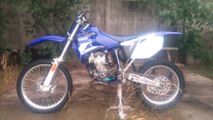 2003 YAMAHA YZ450F TRADE FOR CAR