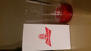 Limited Edition Budweiser Red Light Glasses