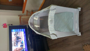 Graco travel bassinet with stages. Mint conditiin