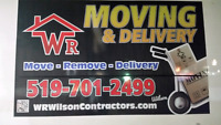 WR MOVING & DELIVERY SERV BBB MEMBER