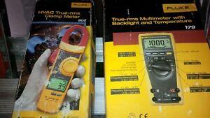 Brand new FLUKE 179 Multimeter and FLUKE 377 Clamp meter