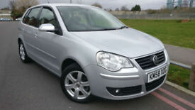 2008 58 Volkswagen Polo 1.4 ( 80PS ) auto Match +++VERY LOW MILEAGE+++