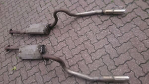 Mustang gt exhaust muffler tail pipe silencieux