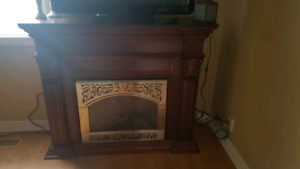Electric fireplace excellent condition