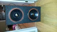 "Haut Parleur 12"" Pro   Speaker audio"