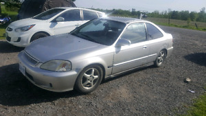 2000 civic si low km!! Need gone