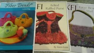 31 KNITTING /  FELTING PATTERNS