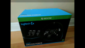 Logitech G920 Xbox and PC Steering Wheel and Pedals