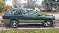 2003 Subaru Outback Tan Wagon