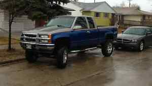 1993 Chevy lifted 37 inch tires