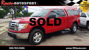 SOLD!!! CERTIFIED 2010 Ford F-150 XLT - YORKTON