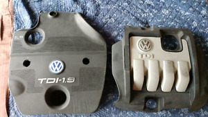 Volkswagen mk4 TDI engine covers.
