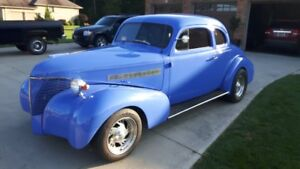 VERY RARE 1939 CHEVROLET COUPE 2 DR. APPRAISED AT $34,900