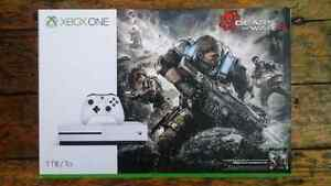 XBox One S 1To Gears of war 4