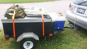 Utility/Camping/Job trailer Belleville Belleville Area image 1