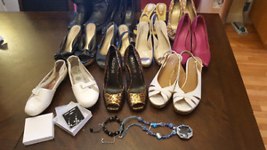 Shoe lot with extras