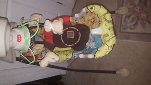 Fisher price baby swing batterie operator and electric