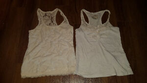 Girls Large tanks from Abercrombie