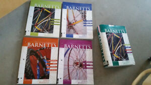 Bicycle Mechanics Repair/Service Barnett's 4 Volume Set