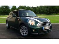 2013 Mini Cooper 1.6 Cooper 3dr Manual Petrol Hatchback