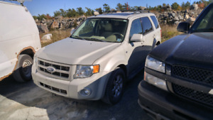 2008 ford escape suv NEW MVI 4wd