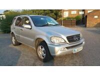 Mercedes-Benz M Class 2.7 ML270 CDI, 7 Seater, Drives Very Well 2003 (03 Reg)