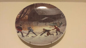 Hockey Plates by D.R. Laird