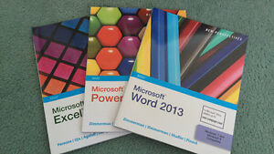 Microsoft Word, PowerPoint, and Excel Text Books