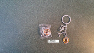 Boston Bruins Key Chains $5.00 each