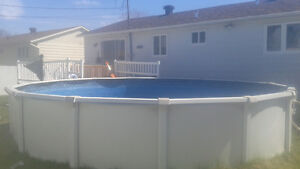 "21' X48"" above ground Pool"