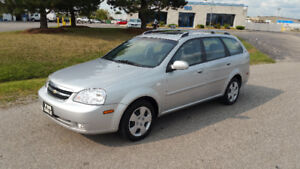 2007 CHEVY OPTRA WAGON - 64000KM!!! LOW KMS!! - $3495 SAFTIED +