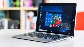 Chuwi HiBook Pro + Docking Keyboard. Android + Windows
