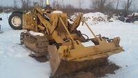 931b Cat Track Loader with clam bucket